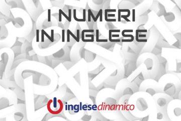 numeri in inglese da 1 a 100
